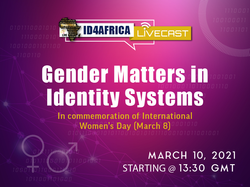 ID4Africa Livecast – Gender matters in identity systems