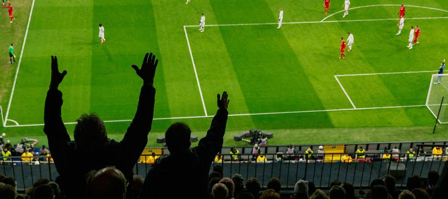 Soccer stadium biometric access control