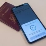 NFC-enabled ID Document and a smartphone