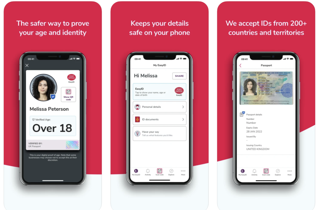 UK Post Office moves into digital ID space with biometric app developed by Yoti
