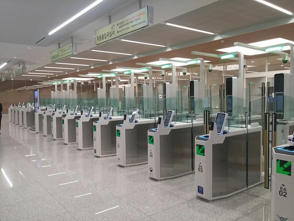 Cubox deploys new biometric ABC gates in Korean airports and harbors