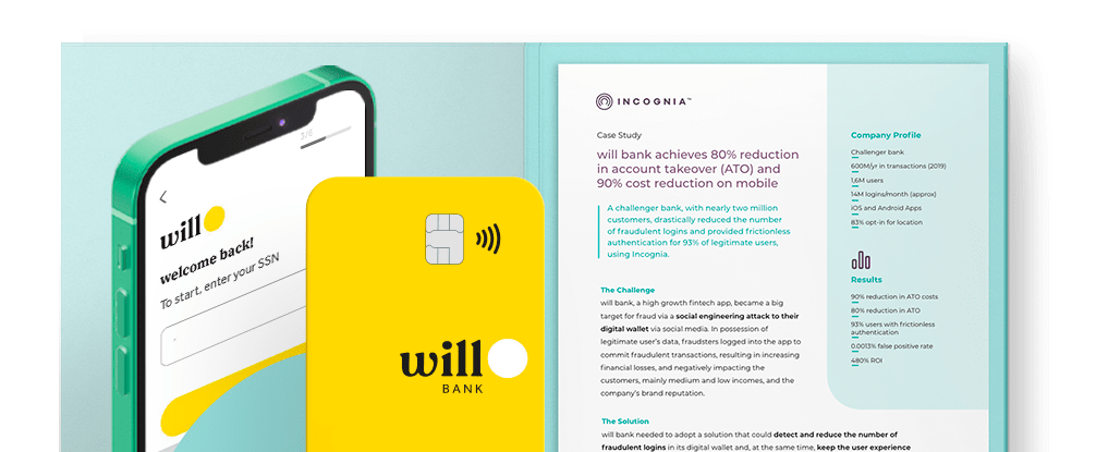 Incognia case study: will bank