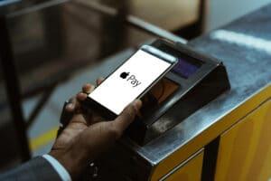 Apple Pay transit terminal