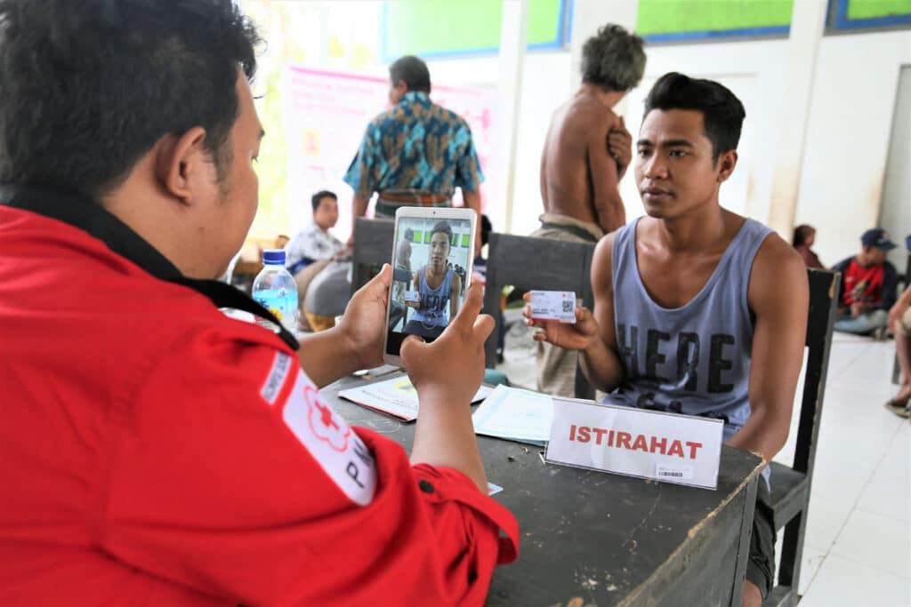 'You cannot trust a vendor': understanding biometrics in the humanitarian sector