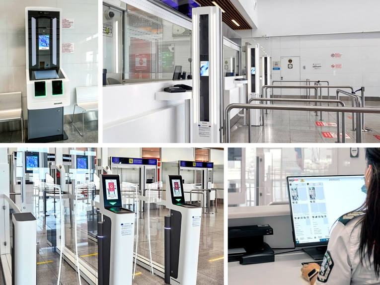 Installation of EES secunet at Bourgas airport
