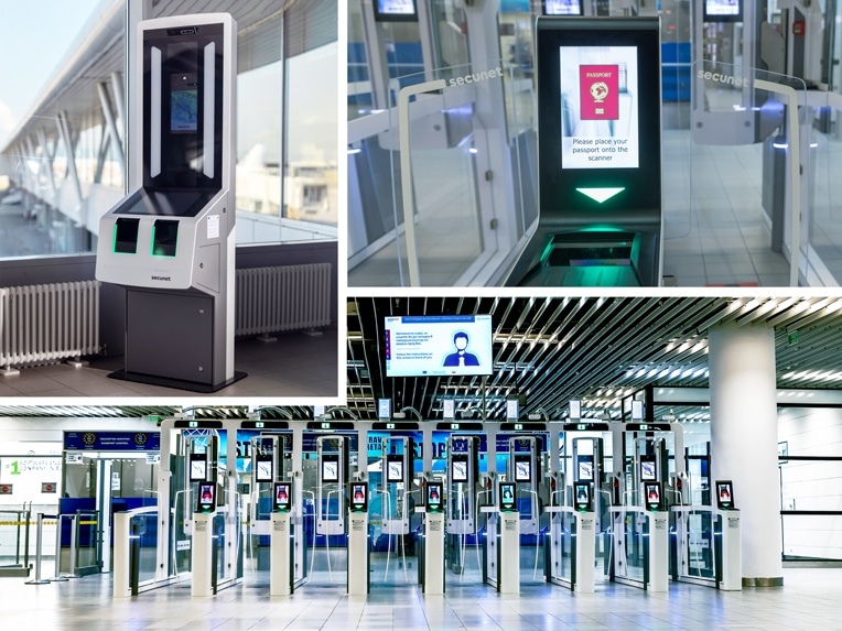 secunet EES Installation Sofia Airport