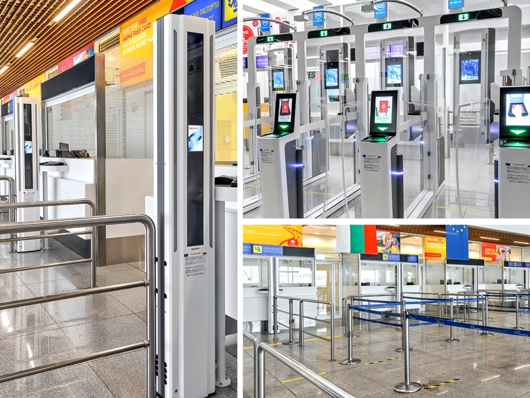 secunet_EES_Installation_Varna_Airport