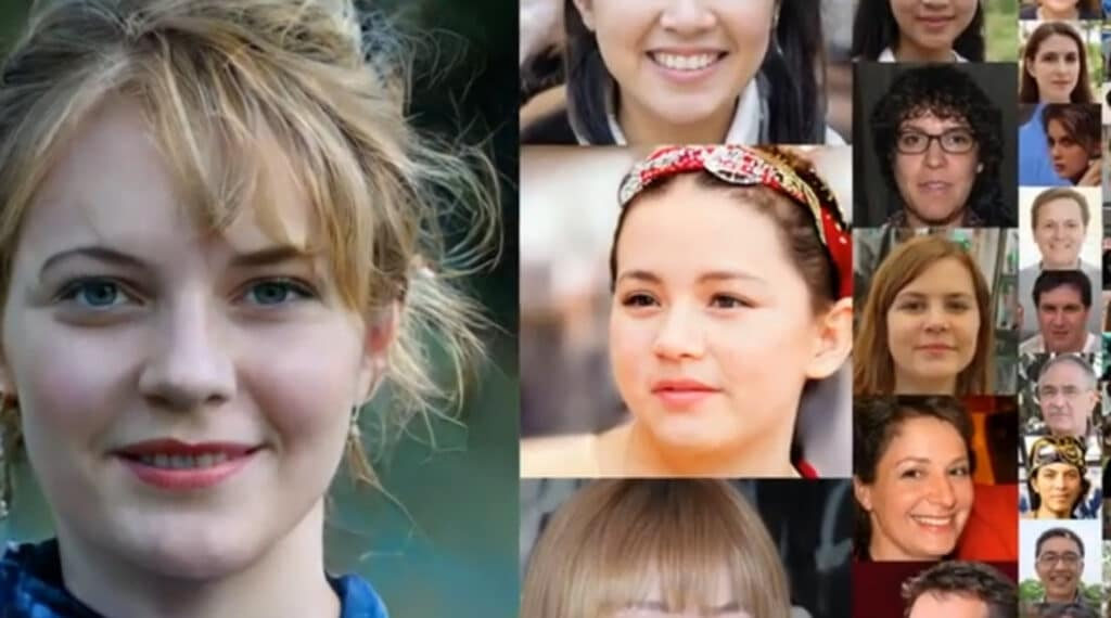 Circular AI firing squad: Fighting AI bias with fake faces may pose real privacy risks